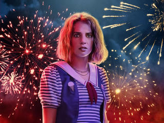 HD Wallpaper | Background Image Maya Hawke as Robin In Stranger Things