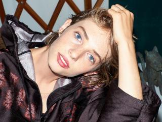 Maya Hawke Blue Eyes wallpaper