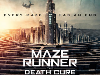 Maze Runner The Death Cure Movie Poster 2018 wallpaper