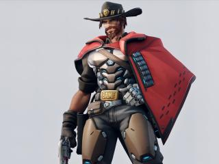 McCree Overwatch wallpaper