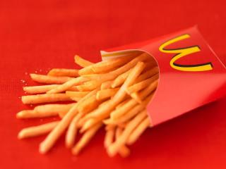 mcdonalds, french fries, food wallpaper