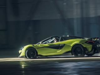 McLaren 600LT Spider Car wallpaper
