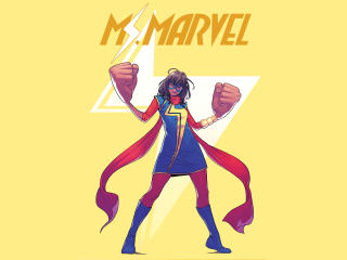 MCU Kamala Khan As Ms. Marvel wallpaper