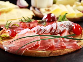 meat, sliced, tasty wallpaper