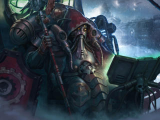 Mechanicus Warhammer wallpaper