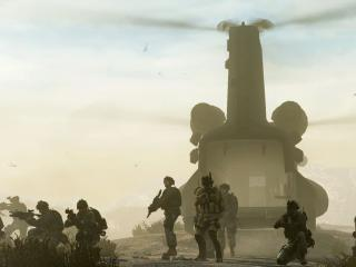 medal of honor in 2010, soldiers, helicopters wallpaper
