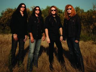 megadeth, band, sunlight wallpaper