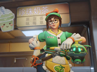Mei Overwatch 4K wallpaper