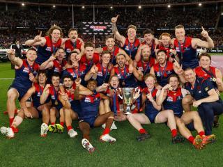 Melbourne Demons AFL 2021 Champions wallpaper