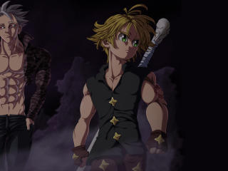 Meliodas and Ban wallpaper