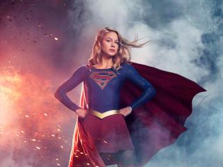 Melissa Benoist Supergirl 2020 wallpaper