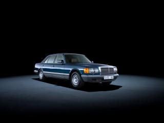 HD Wallpaper | Background Image Mercedes-Benz Retro 1980-85 500 SEL Blue