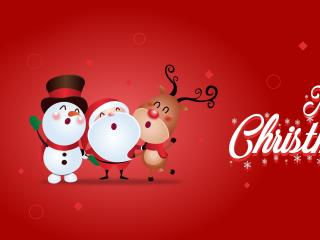 Merry Christmas Santa 2020 wallpaper