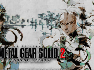 Metal Gear Solid 2 Sons of Liberty wallpaper
