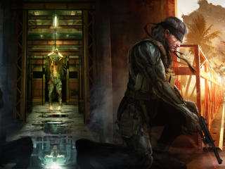 Metal Gear Solid Sins of the Father wallpaper