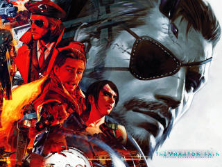 Metal Gear Solid V The Phantom Pain Characters wallpaper