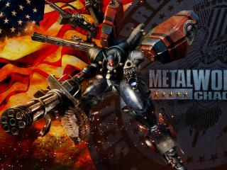 Metal Wolf Chaos XD wallpaper