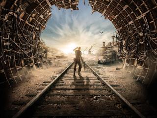 Metro Exodus 4k 8k Poster wallpaper