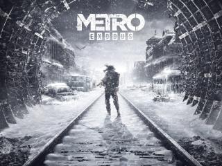 Metro Exodus Game Poster wallpaper