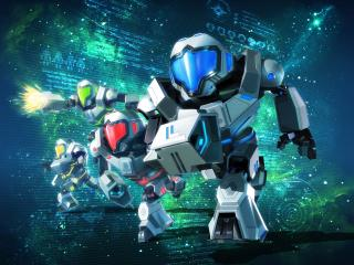 Metroid Prime Federation Force wallpaper