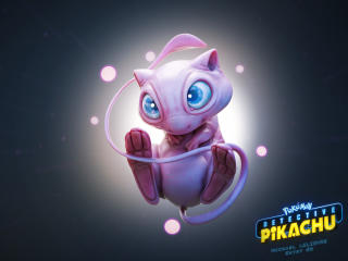 Mew Pokemon in Detective Pikachu wallpaper