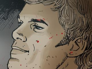 HD Wallpaper | Background Image michael c hall, vector, blood