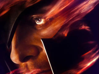 Michael Fassbender as Magneto X-Men Dark Phoenix Poster wallpaper
