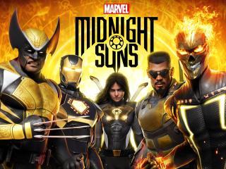 Midnight Suns Game wallpaper