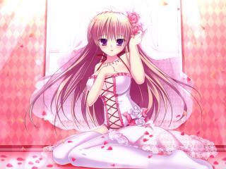 mikeou-nopa, girl, dress wallpaper