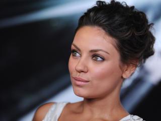 mila kunis, actress, brunette wallpaper