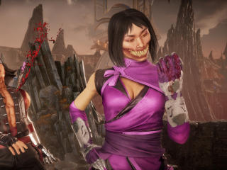 Mileena 4K Mortal Kombat 11 wallpaper