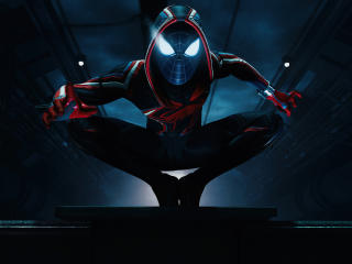 Miles Morales Digital Art wallpaper