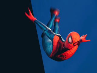 Miles Morales Marvels Spider-Man wallpaper