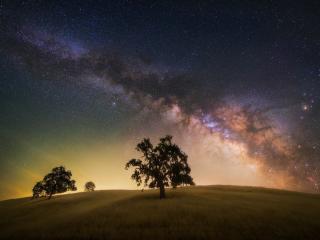 Milky Way 4K Night wallpaper