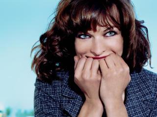 Milla Jovovich naughty wallpapers wallpaper