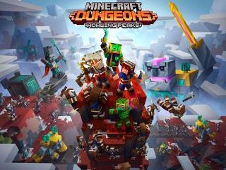 Minecraft Dungeons Howling Peaks wallpaper