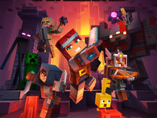 HD Wallpaper | Background Image Minecraft Dungeons