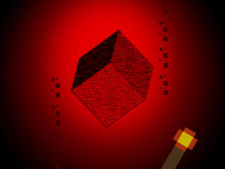 Minecraft Geometric Shape wallpaper