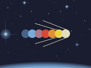 Minimal Space Satellite wallpaper