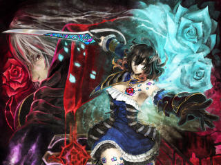 Miriam Gebel Bloodstained wallpaper