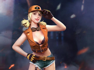 Misha Garena Free Fire 4k wallpaper