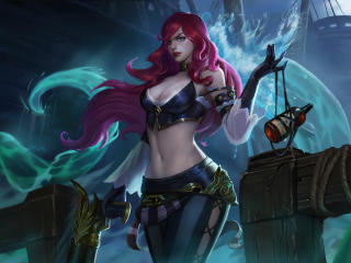 Miss Fortune 4K League Of Legends wallpaper