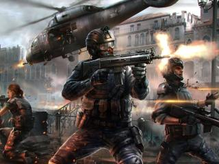 Modern Combat Blackout wallpaper