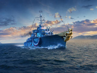 Mogador  World of Warships wallpaper