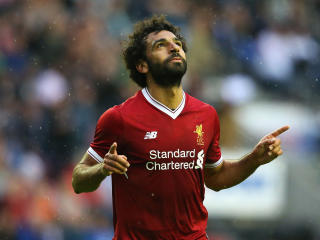 Mohamed Salah Liverpool And Egyptian Football Player wallpaper
