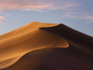 Mojave Day Desert MacOS wallpaper