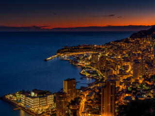 HD Wallpaper | Background Image Monaco At Night