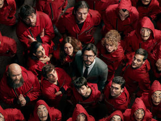 Money Heist 4 wallpaper
