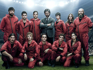 Money Heist Season 3 wallpaper
