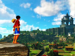 Monkey D. Luffy One Piece World Seeker wallpaper